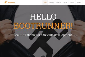 Bootrunner - Business Theme