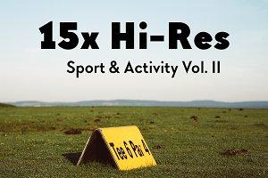 15x Hi-Res Sport & Activity Vol. II