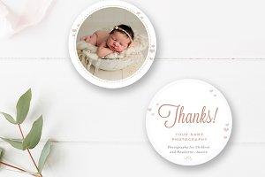 Newborn Photographe Stickers