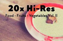20x Food, Fruits, Vegetables Vol. II