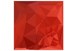 American Rose Red Abstract