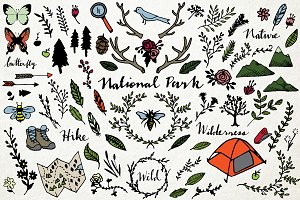 National Park & Nature Vector Pack