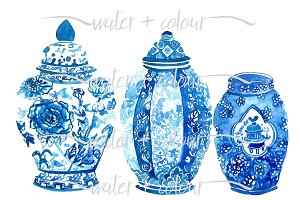 Downloadable Ginger Jar trio