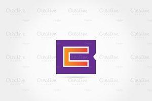 BC - CB modern logo