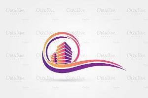 Colored Sea Property Logo