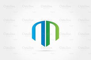 Double n Logo