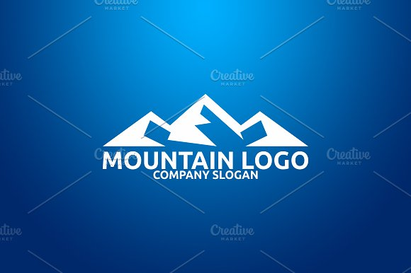 Mountain Logo in Logo Templates - product preview 1