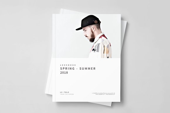Fashion Lookbook in Brochure Templates
