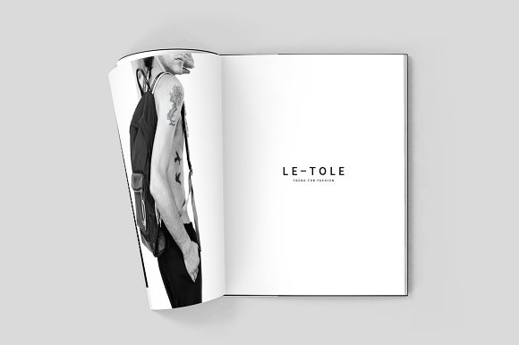 Fashion Lookbook in Brochure Templates - product preview 1