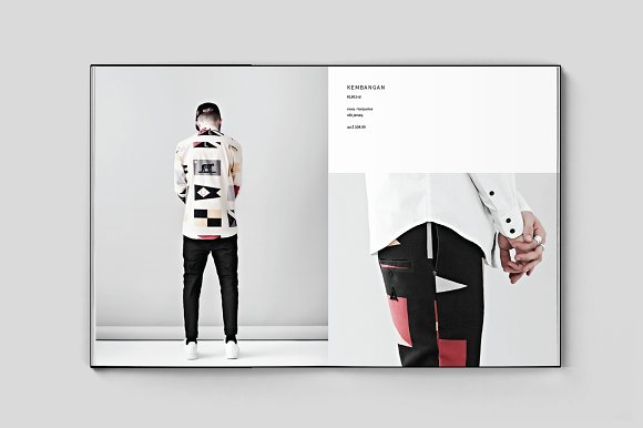 Fashion Lookbook in Brochure Templates - product preview 2