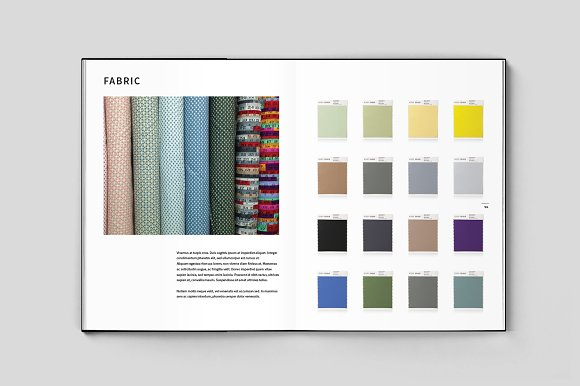 Fashion Lookbook in Brochure Templates - product preview 4