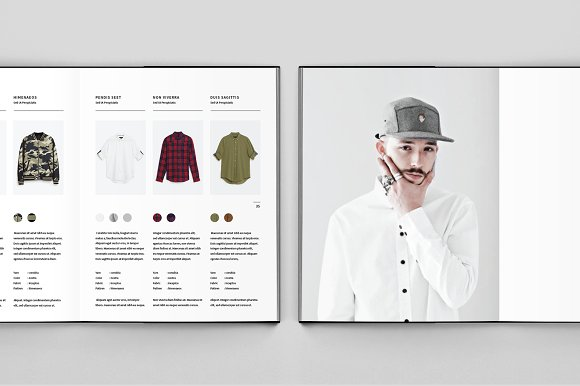 Fashion Lookbook in Brochure Templates - product preview 5