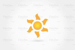 Sun Light Burst Logo