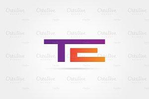 TE Letter Combination Logo