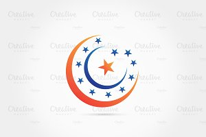 Moon stars logo