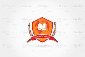 Education crest logo