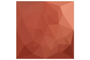Burnt Sienna Orange Abstract