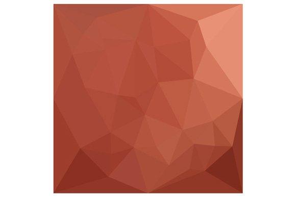 Burnt Sienna Orange Abstract