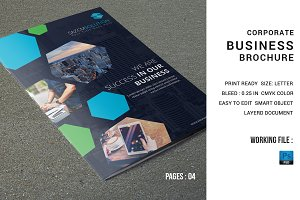 Corporate Brochure Template-V595
