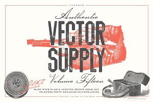 Unember Vector Supply Volume 15