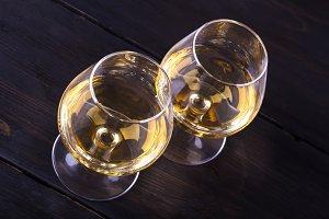 Two Brandy Glasses