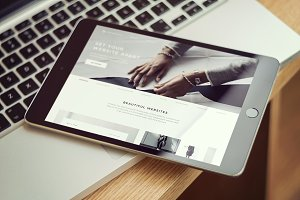 iPad Screen Mockups v2