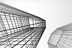 Geometrical Skyscrapers
