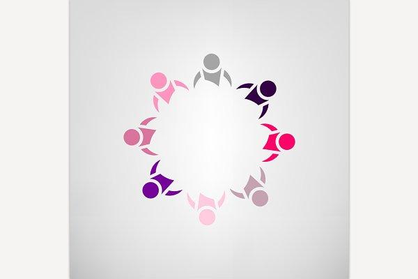 Teamwork Help Icon