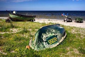 Fishing boats. Baltic