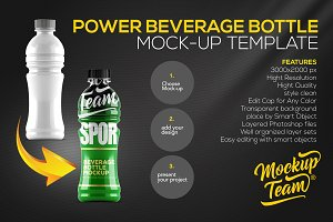 Power Beverage Bottle Mock-up Temp.
