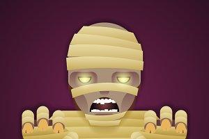 Halloween Party Mummy