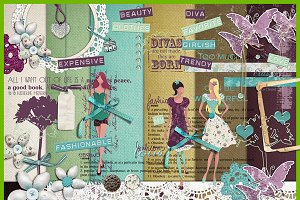 Chick & Style :: Full scrapbook kit