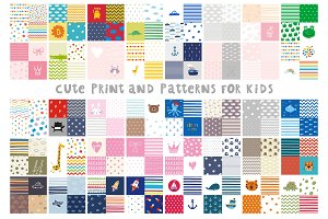 Cute pattern for baby