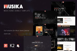Musika - Music Festival Template