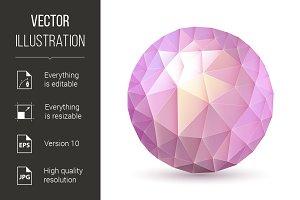 Polygonal sphere