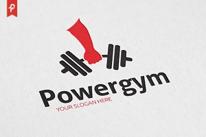 Power Gym Logo