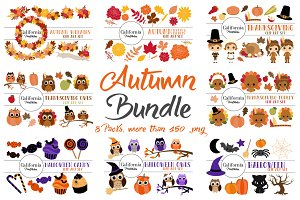 Autumn Bundle - 8 Packs