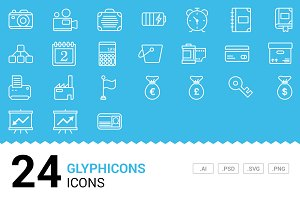 Glyphicons - Vector Line Icons