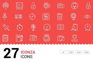 Iconza - Vector Line Icons