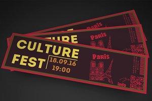 Fresh Event Ticket