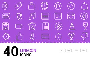 Linecon - Vector Line Icons
