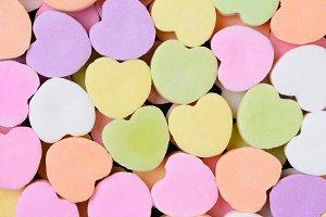 Candy Hearts Macro
