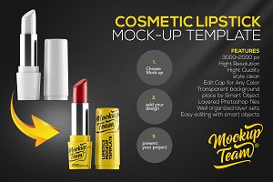 Lipstick Mock-up Template