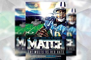 Football Match - Flyer Template