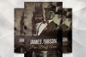 James Gibson - Flyer Template