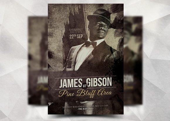 James Gibson - Flyer Template
