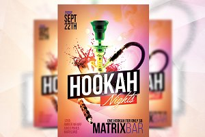 Hookah Nights - Flyer Template