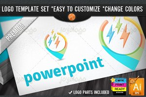 Softwares 3D Power Point Logo Design