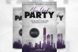 New York Party - Flyer Template