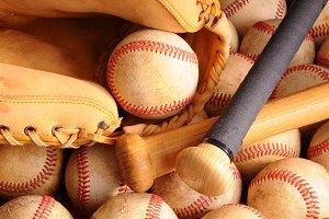 Vintage Baseball Equipment